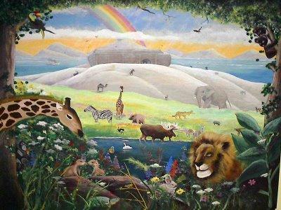 Noahs-ark-mural